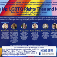 Rise Up: LGBTQ Rights, Then and Now