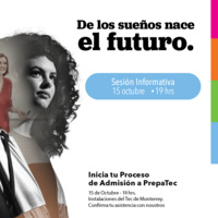 Sesión Informativa ingresos a Prepa Tec Chihuahua