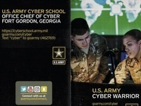 Special Lecture: Do you have what it takes to be an Army Cyber Officer?