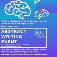 Abstract Writing Event