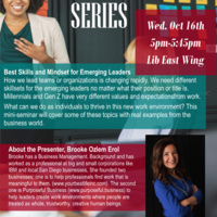 CSML Speaker Series: Best Skills and Mindset for Emerging Leaders