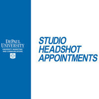 Faculty/Staff Monthly Headshot Appointments: Loop Campus-January 27, 2020