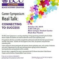 Career Symposium Real Talk: CONNECTING TO SUCCESS