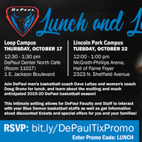Lunch and Learn -- DePaul Basketball