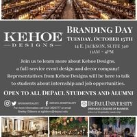 Kehoe Designs Branding Day