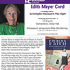"Edith Mayer Cord presents ""Finding Edith: Surviving the Holocaust in Plain Sight"""