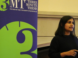 3MT: Three Minute Thesis Event