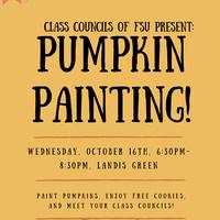 Class Councils Pumpkin Painting