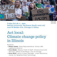 Act local: Climate change policy in Illinois