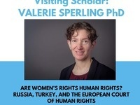 Valerie Sperling: Are Women's Rights Human Rights?