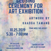 Closing Ceremony for Art Exhibition