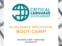 Critical Language Scholarship Application Boot Camp