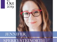 Jennifer Sperry Steinorth: A Reading