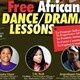Free African Dance/Drama Lessons