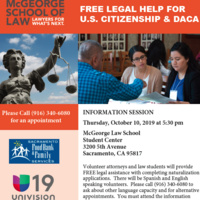 Free Legal Help for U.S. Citizenship and DACA