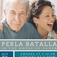 Concert for Compassion featuring Perla Batalla in The House of Cohen