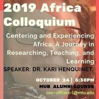 Featured event photo for Africa Colloquium