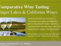 Comparative Wine Tasting: Fingerlakes v. California