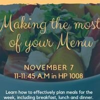 Making the Most of Your Menu