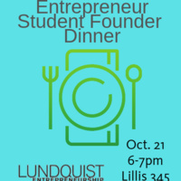 UO Entrepreneur Founder Dinner