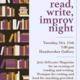 Read, Write, and Improv Night