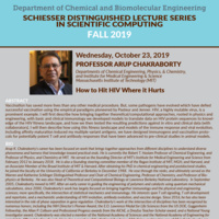 CHBE Schiesser Distinguished Lecture with Dr. Arup Chakraborty