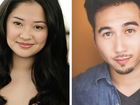 A Conversation with Class Guest Lecturers, Actors Shannon Tyo and Cory Censoprano