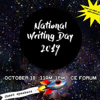 National Writing Day Panel Discussion