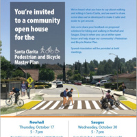 Open House in Saugus - Pedestrian and Bicycle Master Plan
