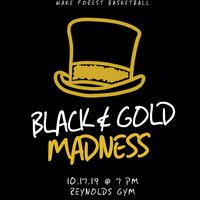 Black & Gold Madness