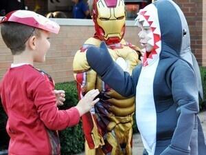 Super Hero Costume Party