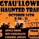 SigTaulloween Haunted Trail