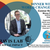 Dinner with World Changers: Connor Krone