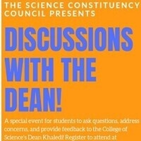 College of Science Discussions with the Dean