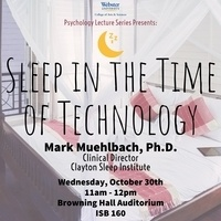 Sleep in the Time of Technology