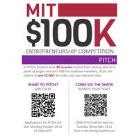 MIT $100k Competiton
