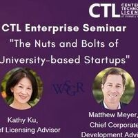 CTL Enterprise Seminar – The Nuts and Bolts of University-based Startups
