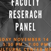 Faculty Research Panel