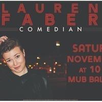 Comedian Lauren Faber