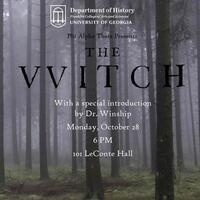 "Phi Alpha Theta Movie Night: ""The Witch"""