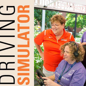 Try Out the Driving Simulator