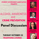 Alcohol Awareness and Crime Prevention Panel Discussion