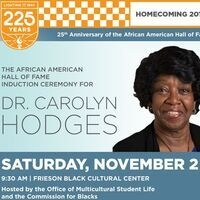 25th Anniversary of the African American Hall of Fame and Induction Ceremony