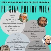 Persian Poetry Week - Rumi: Tracing the Traceless in Suf'i Poetry