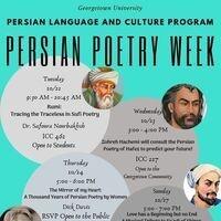 Persian Poetry Week - Zohreh Hachemi, Pars Place