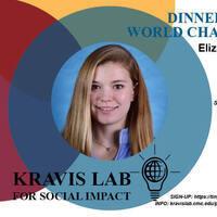 Dinner with World Changers: Eliza Harrison