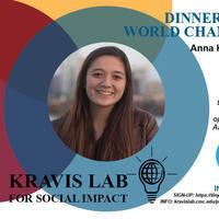 Dinner with World Changers: Anna Kazlauskas