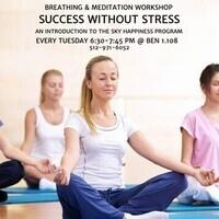 Success without Stress - Breathing & Meditation Workshop