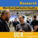 Mini-Grant Deadline - Undergraduate Research