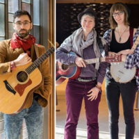 Artists Beyond the Desk presents Hilltop Sunset and The Leafy Greens